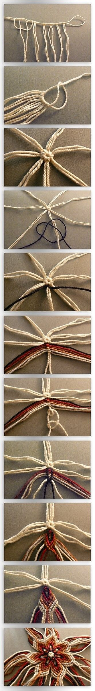 Friendship Bracelets Flower