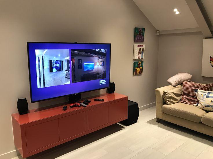 22 best MXG installations - visualaudiouk images on Pinterest - meuble tv home cinema integre watts
