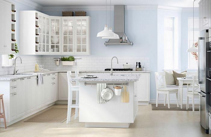Fotos De Las Mejores Cocinas Con Isla Ikea Modernas Blancas