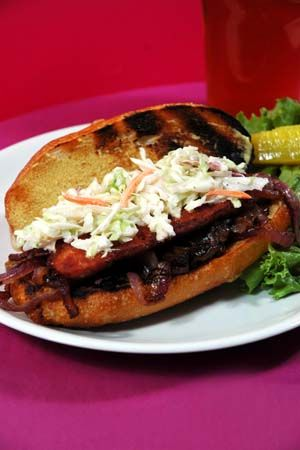 Firehouse Grilled Sausage Sandwich Recipe  Pretty tasty! I also added cheese and relish! 3 of 5 stars!