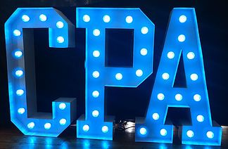 Large Light Up Letters for Corporate Celebrations. Adding just a little bit of glamour to Car Parts and Accesories' 20th birthday