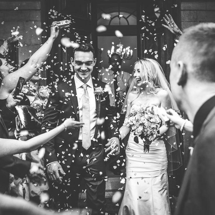 Confetti!!! Boom!!! Emma and Giles getting a face full as they step outside Stratford Town Hall! #stratforduponavon #stratfordtownhall #confetti #confettishowers #confettishower #justmarried #justmarried❤️ #blackandwhitewedding #weddinghairstyle #weddinghair #weddingmakeup #weddingideas #stratfordwedding #stratfordweddingphotographer #weddingpics #instalove #bokehlicious #townhall #ukweddingvenues #midlandswedding #midlandsweddingphotographer