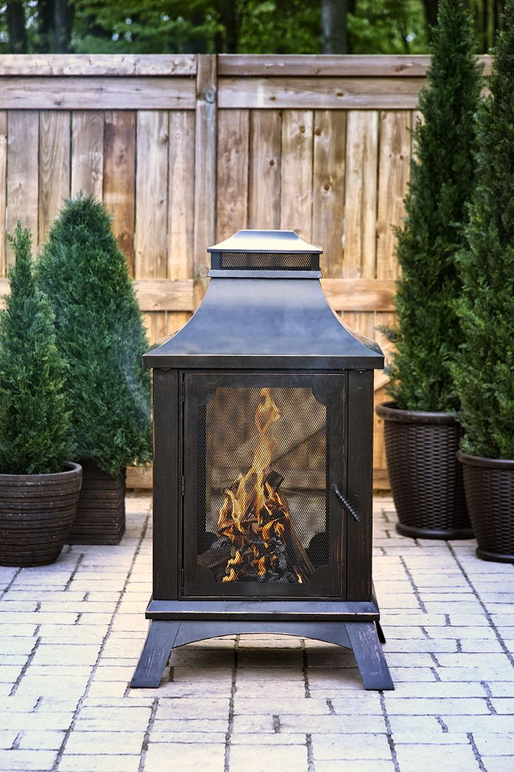 Pleasant Hearth Wood-Burning Outdoor Fireplace - OFW226H ...