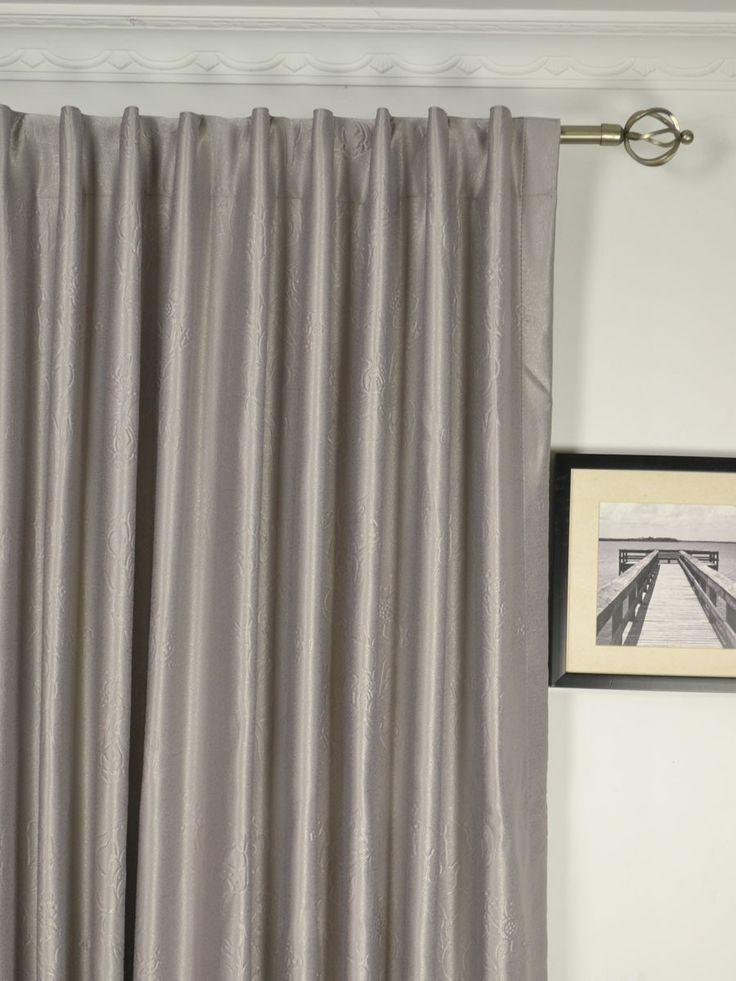 67 best extra wide curtains drapes images on pinterest. Black Bedroom Furniture Sets. Home Design Ideas