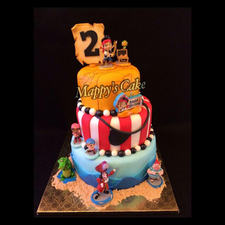 Jack And The Neverland Pirates Cake Ideas