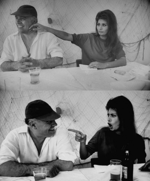 Carlo Ponti and Sophia Loren - From a long ago source on Google