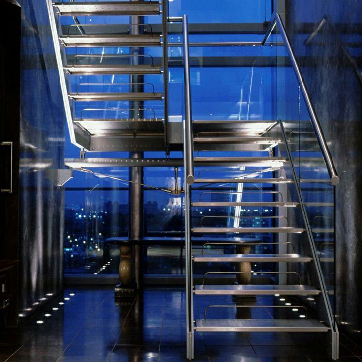 Lighting Basement Washroom Stairs: 119 Best Corridors & Stairs Lighting Images On Pinterest