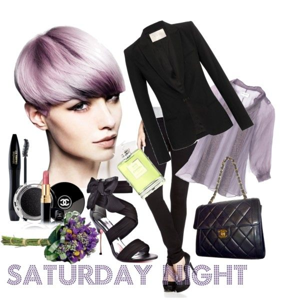 Saturday night, created by dea-afrodite on Polyvore