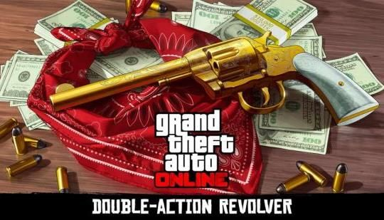 GTA Online And Red Dead Redemption 2 Cross-Promo Revealed: Grab a gun in GTA Online today, get it in Red Dead Redemption 2 when it launches.
