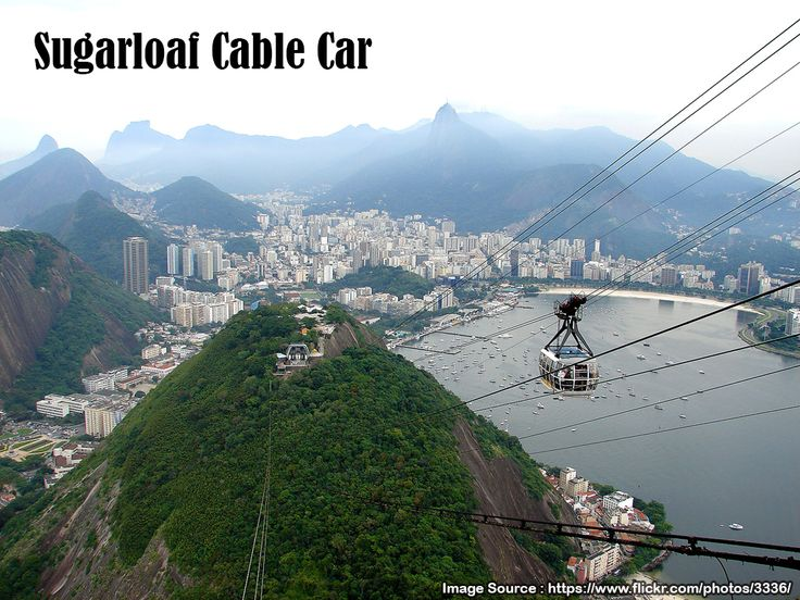 #Sugarloaf #Cable #Car   The Sugarloaf Cable Car; #Portuguese: #Bondinho do Pão de Açúcar) is a #cableway in #Rio #de #Janeiro, #Brazil. Moving between Praia Vermelha and the Sugarloaf #Mountain, it stops at Morro da Urca (at 722 feet (220 m)) on its way up and down, and reaches the summit of the 1,299-foot (396 m) mountain.   Source : http://en.wikipedia.org/wiki/Sugarloaf_Cable_Car  #Flight #Deals to #Rio http://www.esperanzatravel.co.uk/flights-to-rio-de-janeiro.php