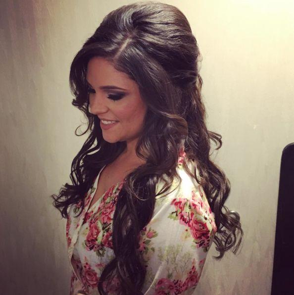 Bridal Hairstyles Inspiration : half up half down wedding hair ~ we ❤ this! moncheribridals.com