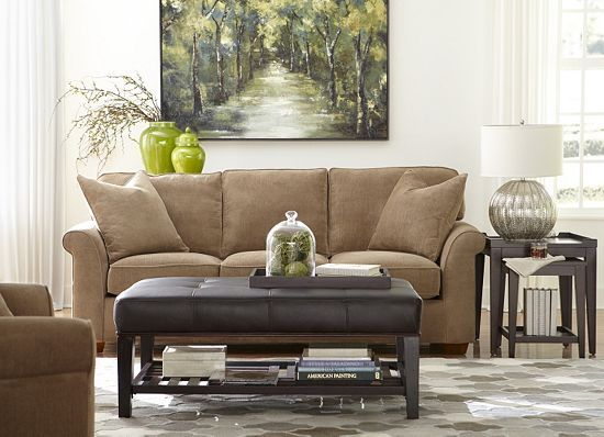 Piedmont Sofa 86 Inch Living Rooms Havertys Furniture 879 Available In All Colors Beiges
