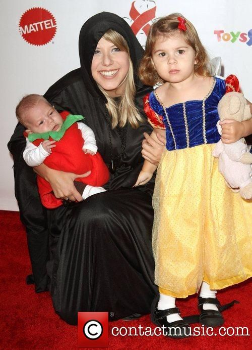 Jodie Sweetin (Stephanie from Full House) and her children. Cute Family Halloween Costumes