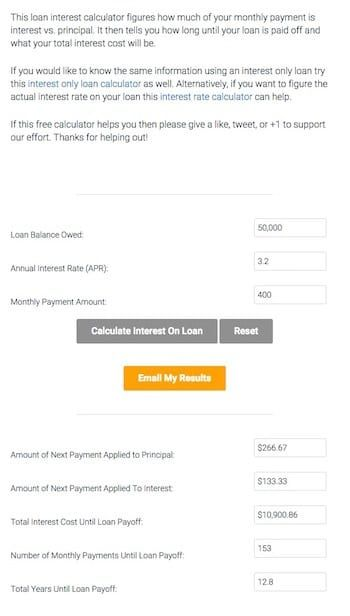 Debt Payoff Calculator.  I like this one, because you can try different ordering to see which approach will work best for you!!!