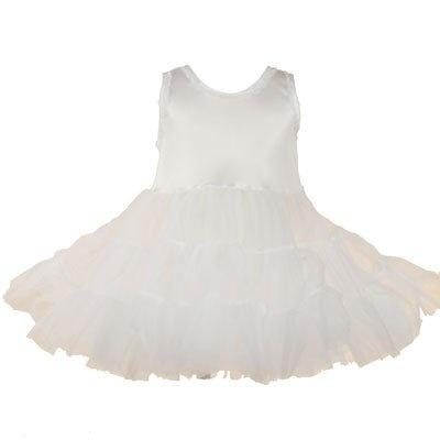 Girl Clothes WHITE PAGEANT PETTICOAT Full Slip « Clothing Impulse