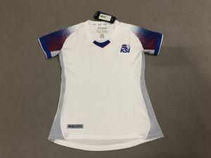f50517a263f 2018 World Cup Women Jersey Iceland Away Replica White Shirt [BFC981 ...