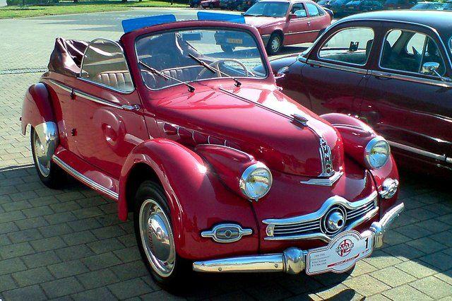 Panhard Dyna X86 Cabriolet