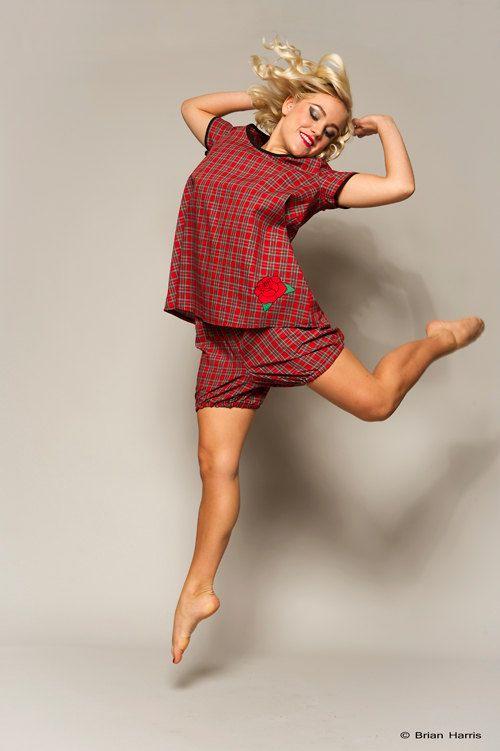 Red Plaid Bloomers Tartan Pyjama Shorts Ladies by Dollydripp, £15.50 // cute for Xmas morning <3