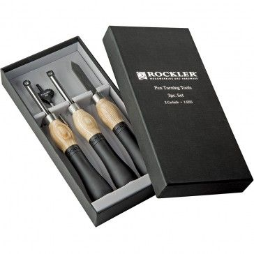 Ergonomic handles paired with rotatable carbide cutters bring comfort and convenience to your turning. Carbide Pen Turning Tool 3-Piece Set. Only $129.99