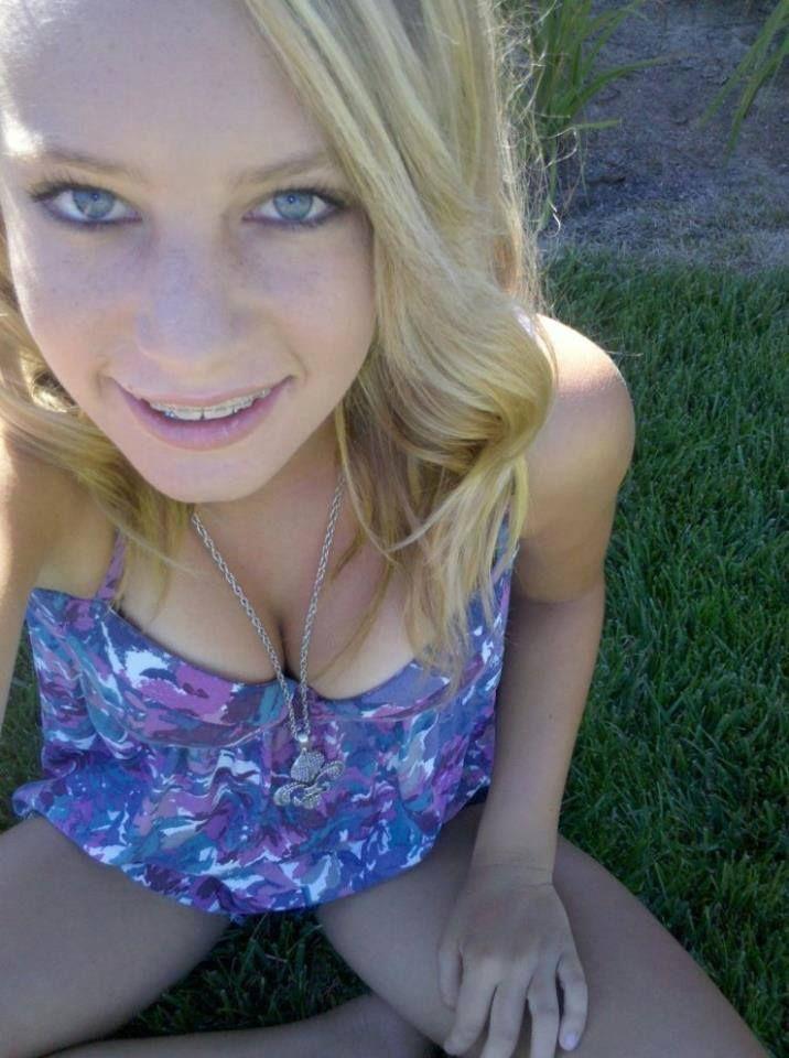 Blonde Teen In Blue 67