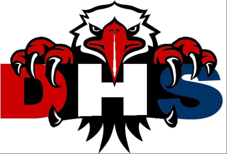 Eagle Baseball Logo | Dawson Eagles Decal - Design 8 ...