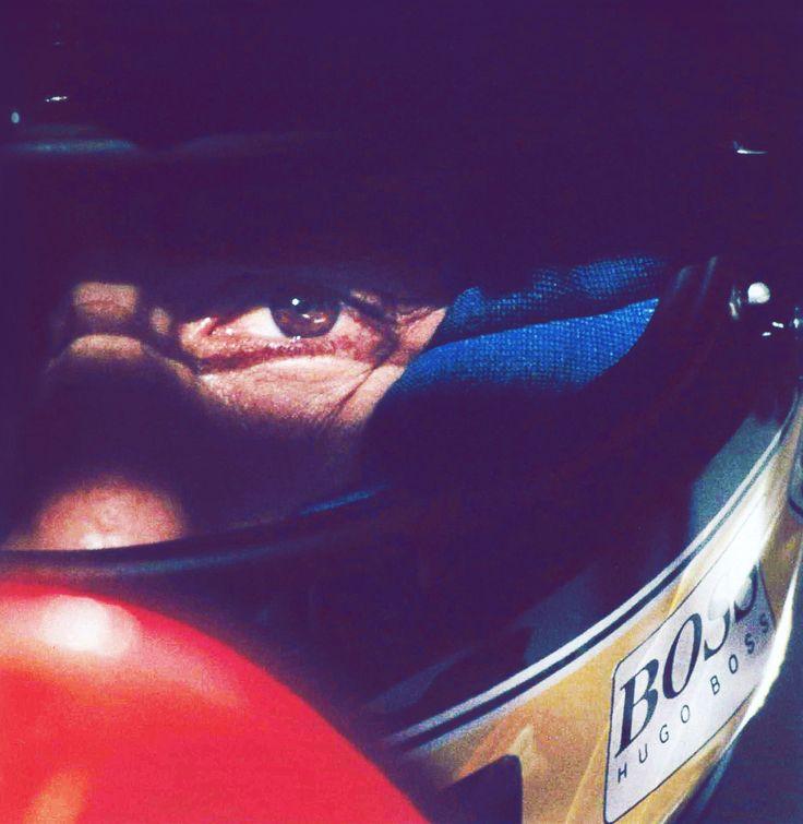 """I am not designed to finish 2nd or 3rd - I am designed to win."" - Ayrton Senna #f1"