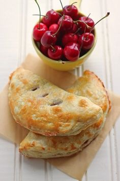 Fresh Cherry Hand Pies | Dessert For Two
