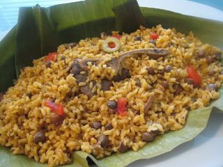 Recipe Rice and Green Pigeon Peas  Puerto Rico