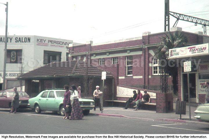 Box Hill station main st
