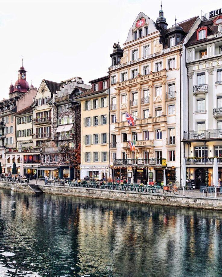 Old town - Lucerne - Switzerland