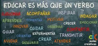 Educar es más que un verbo via @peralias