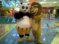 Ростовая кукла кунгфу панда в Алматы