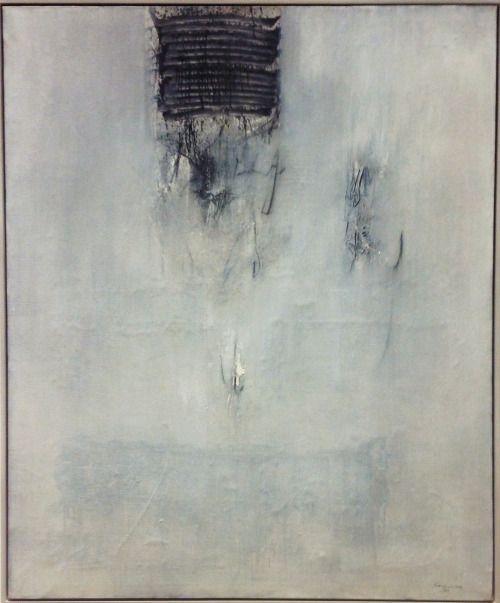 abstrakshun:  Emilio Scanavino Verginità - 1960 Cantiere del Novecento, Opere dalle collezioni Intesa Sanpaolo, Milano