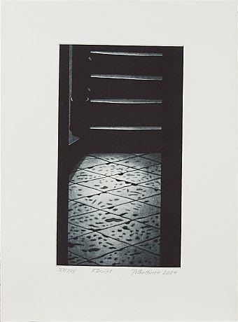 Jukka Vänttinen: Försikt, 2004,  mezzotint, 35x26 cm, edition 37/295 - Stockholms Auktionsverk 5/2016