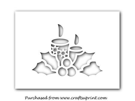 Рождественские свечи - CUP695584_1051 | Craftsuprint