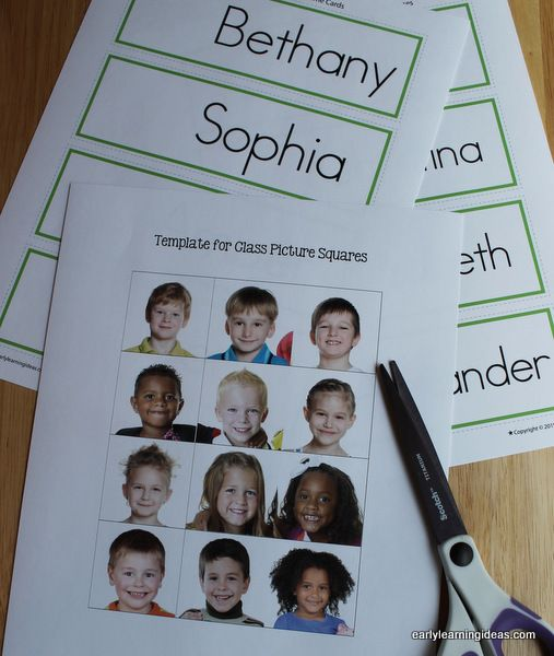 Name Cards: Make Name Cards for Your Word Wall