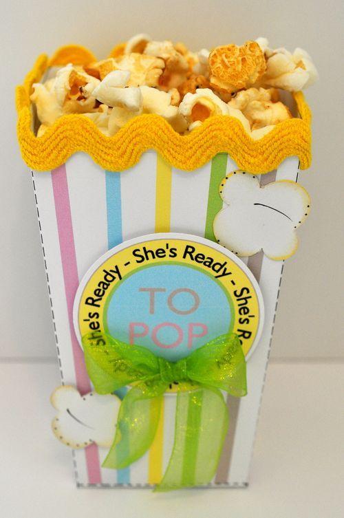 POPCORN BOX READY TO POP BABY SHOWER