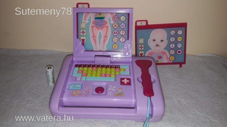 BS Játék -  Baby Born Interaktív Orvos Laptop játék kislányoknak - 2000 Ft - Nézd meg Te is Vaterán - Egyéb kellékek - http://www.vatera.hu/item/view/?cod=2508570179