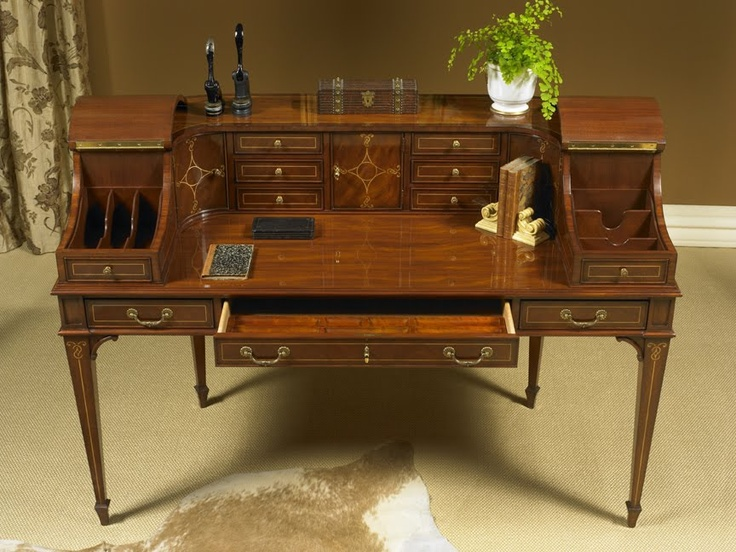 Karges Furniture   Carlton House Desk (my Perfect Desk). Made By Hand In  Evansville, Indiana