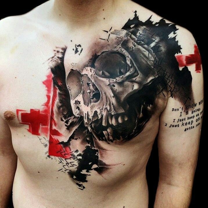Best 25+ Skull Tattoos Ideas On Pinterest