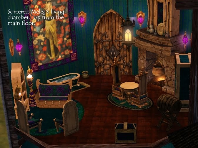 Best Sims Medieval Knight Room