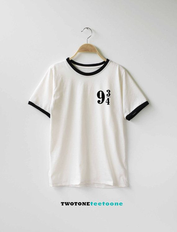 Platform 9 3 4 Harry Potter Shirt TShirt T-Shirt T Shirt Tee