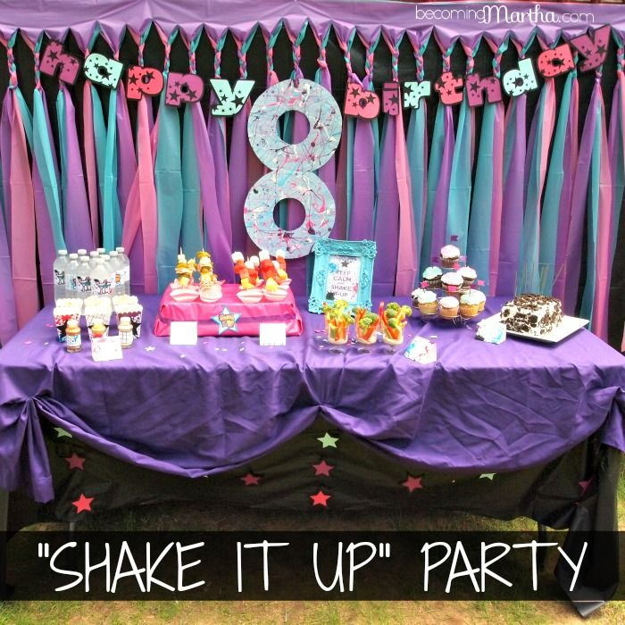 100 Best Images About Shake It Up Party On Pinterest