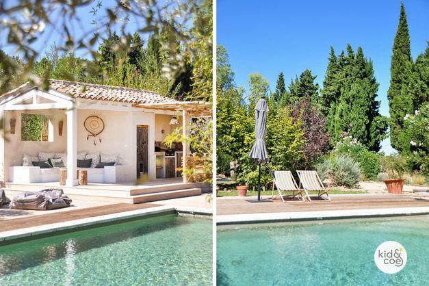 Family Vacation Rental   The Mas des Verans Residence   Saint-Rémy-de-Provence   Kid & Coe