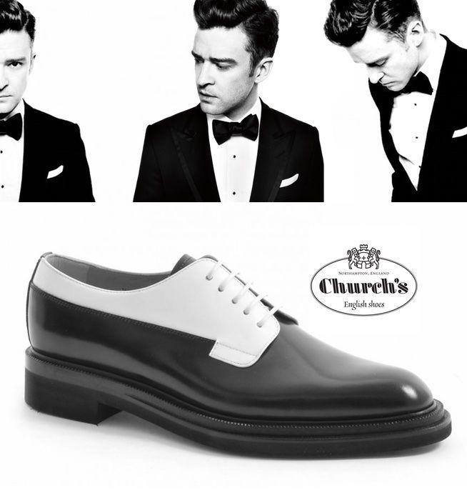 Derby bianco e nero Church's: perfezione per pochi. http://www.marsilistore.it/scarpe/derby-liscio-bicolor.html #shoes #fashion #glamour #elegance #men
