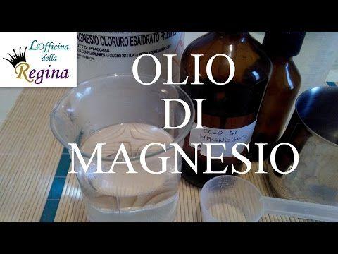 Olio di magnesio - YouTube