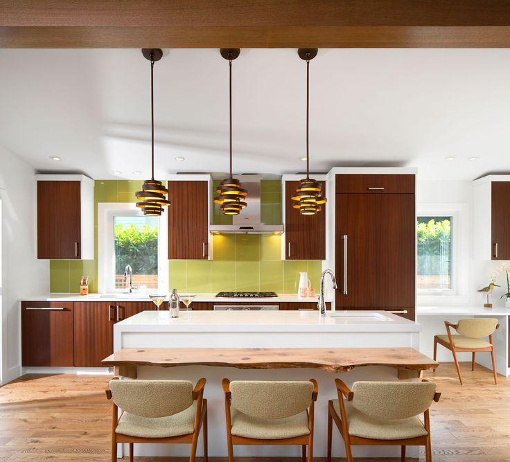 Live Edge Dining   Mid Century Modern Renovation   Best Builders Ltd.   Ema  Peter · Full HouseA ...
