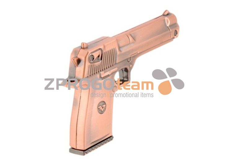 NEW: Promotional metal USB flash drive design pistol.