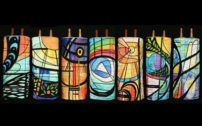 61 Best Judaica Torah Mantles Images On Pinterest Torah