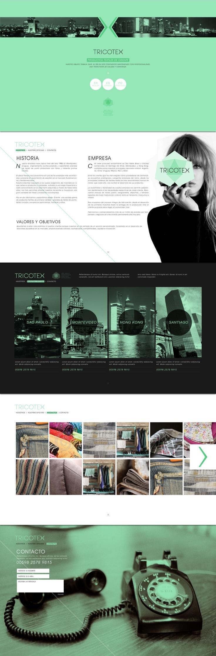 Diseño web, realizado en Cardinal